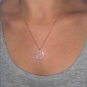 Kate Spade Rose Gold Crystal Necklace